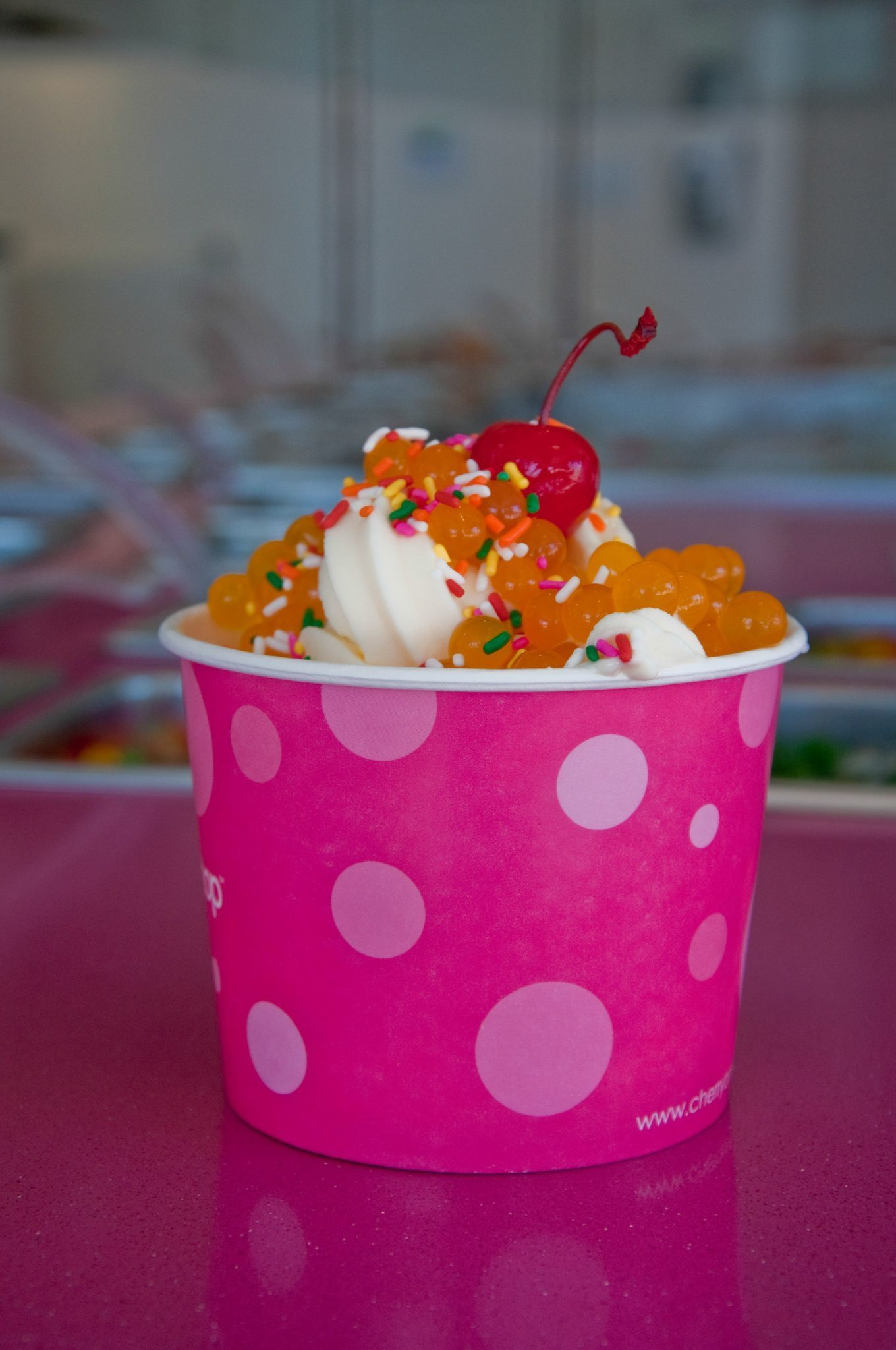 Frozen yogurt keeps campus cool – PCC Courier