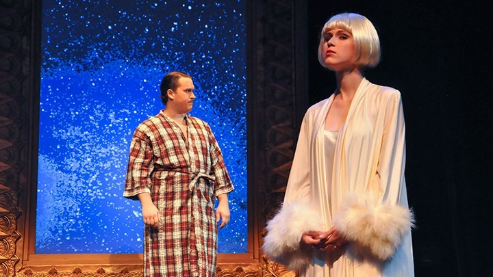 Concepcion Gonzalez / Courier The Great Gatsby dress rehearsal on October 8.