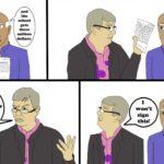 (Cartoon by: Mick Donovan, Paul Ochoa)