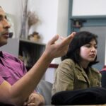 Hannah Gonzales/Courier MEChA de PCC club members discuss their plans to advocate for a Chicano Studies department at PCC during their weekly meeting in room C361 on Thursday, March 3, 2016.